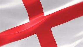 4k ιδιαίτερα λεπτομερούς σημαία της Αγγλίας απεικόνιση αποθεμάτων