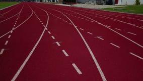 4K κενή τρέχοντας πάροδος διαδρομής απόθεμα βίντεο