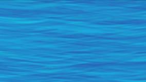 4k μπλε υπόβαθρο κυμάτων νερού, επιφάνεια ρευμάτων ποταμών λιμνών, υγρός ωκεανός θάλασσας κυματισμών διανυσματική απεικόνιση