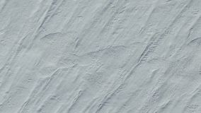 4K Πτήση και απογείωση επάνω από τους τομείς χιονιού το χειμώνα, εναέρια τοπ άποψη με την περιστροφή Άσπρη σύσταση χιονιού απόθεμα βίντεο