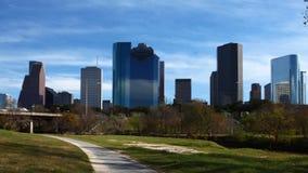 4K στενή άποψη UltraHD timelapse του κέντρου πόλεων του Χιούστον απόθεμα βίντεο