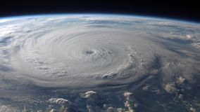 4K συλλογή της NASA Cinemagraph - τυφώνας Felix ελεύθερη απεικόνιση δικαιώματος
