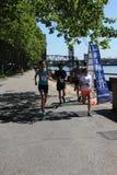5K τρέξιμο Στοκ Εικόνες