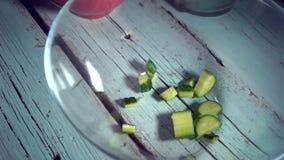 4k, τρόφιμα  κουζίνα  υγιής  σαλάτα  μαγείρεμα  χορτοφάγος  διατροφή  ελληνικά  φάτε  νόστιμος απόθεμα βίντεο