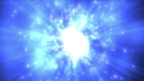 4k δυναμικό φως ινών ακτίνων ενέργειας & φλογών τεχνολογίας έκρηξης, νεφέλωμα στον κόσμο φιλμ μικρού μήκους