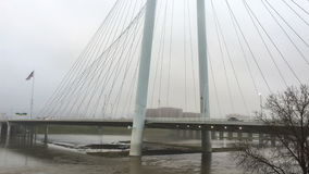 4K υδρονέφωση ξημερωμάτων UltraHD στη γέφυρα της Margaret Κυνήγι στο Ντάλλας φιλμ μικρού μήκους