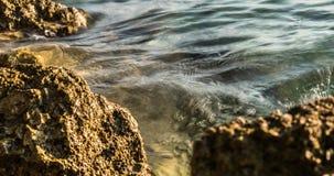 4K χρονικό σφάλμα της κυματωγής στο ηλιοβασίλεμα αδρεναλίνης Ευρώπη φιλμ μικρού μήκους