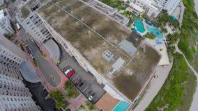 4k антенна Miami Beach видеоматериал