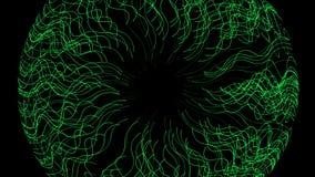 4k резюмируют линию фон отверстия круга тоннеля mesh&fiber травы choas акватическую бесплатная иллюстрация