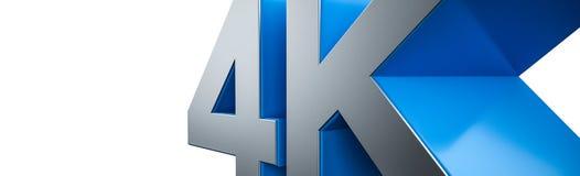 4K ультра HD Стоковое Изображение