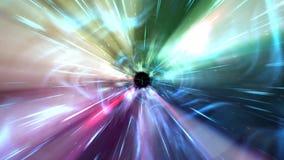 4K через космос Стоковое Изображение RF