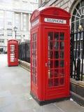 K2和K6电话亭 免版税图库摄影