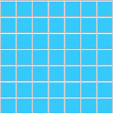 μπλε κεραμικά τετραγωνι&k Στοκ Εικόνα