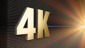 4K Photographie stock