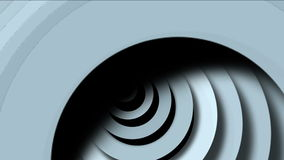 4k Abstract circle ring rounds 3d tunnel hole,3d paper ripples cards wave space. stock video