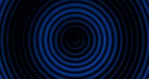 4K Abstract Expanding Circular Lines.