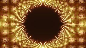 Abstract Fractal Wavefield With Placeholder Background Fx