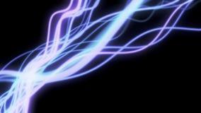 4K Abstract Light Streaks. stock footage