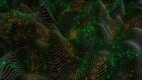 4K Abstract Neural Net with Firing Synapses.