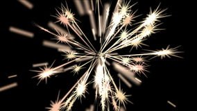 4k Abstract ray fireworks light stars wedding background,holiday firecrackers.