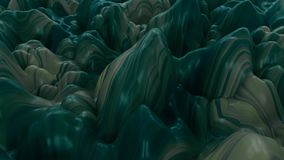 4K Abstract Rippled Jelly Background.