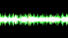 4k Abstract Sound wave rhythm energy recording background,science fiction light. stock video footage