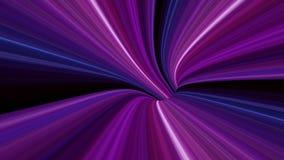 4K abstracte Afwijkingstunnel royalty-vrije illustratie