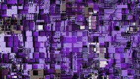 4K abstracte moderne cpu Het leren AI concept voor het exploiteren van gegevens, diep stock illustratie