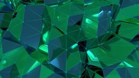 4K abstracte Neurale Netto royalty-vrije illustratie