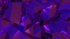4K abstracte Neurale Netto stock illustratie