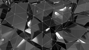 4K abstracte Neurale Netto vector illustratie