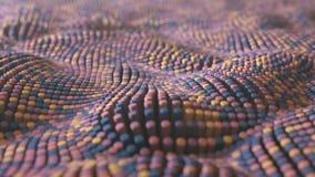 4K abstracte neurale netto achtergrond vector illustratie