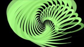 4k abstracte schroeflijn, puindocument, spiraalvormig deeltje, de achtergrond van de lintkromme vector illustratie