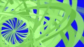 4k abstracte schroeflijn, puindocument, spiraalvormig deeltje, de achtergrond van de lintkromme royalty-vrije illustratie