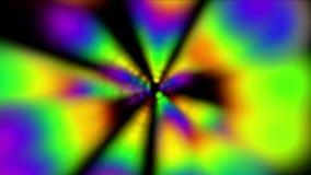 4k abstraem o fundo claro do raio, espaço do fumo, tecnologia de néon do disco, partícula mágica ilustração stock