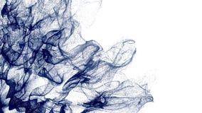 4K Abstrakcjonistyczne cząsteczki rozszerzają przez ramę ilustracja wektor
