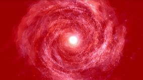 4k Abstrakcjonistycznego energetycznego vortex fajerwerków cząsteczki dziury wiru wszechrzecza tunelowa podróż royalty ilustracja