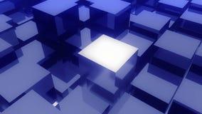 4k, abstraktes Metall 3d berechnet des Animationshintergrundes stock video footage