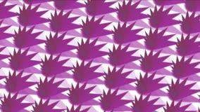 4k Abstratct paper cut pattern background,fractal geometry wallpaper backdrop. stock footage