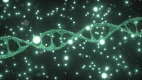 4K ADN Gene Editing Concept illustration stock