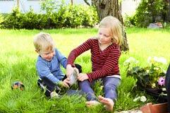 Kładzenie na butach Fotografia Stock