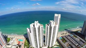 4k Aerial Sunny Isles Beach stock video footage