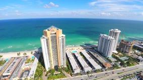 4k Aerial video Sunny Isles Beach FL stock footage