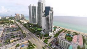 4k aerial video Sunny Isles Beach. 4k aerial video footage of Sunny Isles Beach Floida stock footage