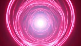 Abstract Scifi Energy Vortex Tunnel Loop