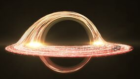 4K animation of a black hole accretion disk