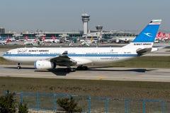 9K-APC Kuwait Airways, Airbus A330 - 200 Imagem de Stock