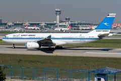 9K-APD Kuwait Airways, Airbus A330 - 200 Imagens de Stock Royalty Free