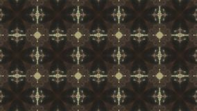 4K Arabesque mandala αρχαία γεωμετρία Μαγικοί κύκλοι Έκρηξη Ανατολή καλειδοσκόπιο παραισθήσεις οπτικές ελεύθερη απεικόνιση δικαιώματος