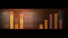 4k Audio equalizer,music rhythm Volume,speakers waves spectrum,heart-rate,vj. 4k Audio equalizer,music rhythm Volume,speakers waves spectrum,heart-rate,vj stock footage